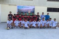 ANTACO BINH DUONG WIN THE FOOTBALL ANTACO CUP