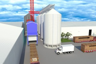 SILO FOUNDATION & INTAKE HOUSE - INVIVO GUYOMARC'H FACTORY