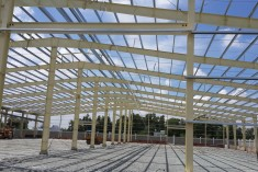 FABRICATION AND INSTALLATION OF STEEL STRUCTURE AND MECHANICAL PRODUCTS