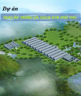 Dự án Trại ấp trứng gà sạch ĐTK Phú Thọ